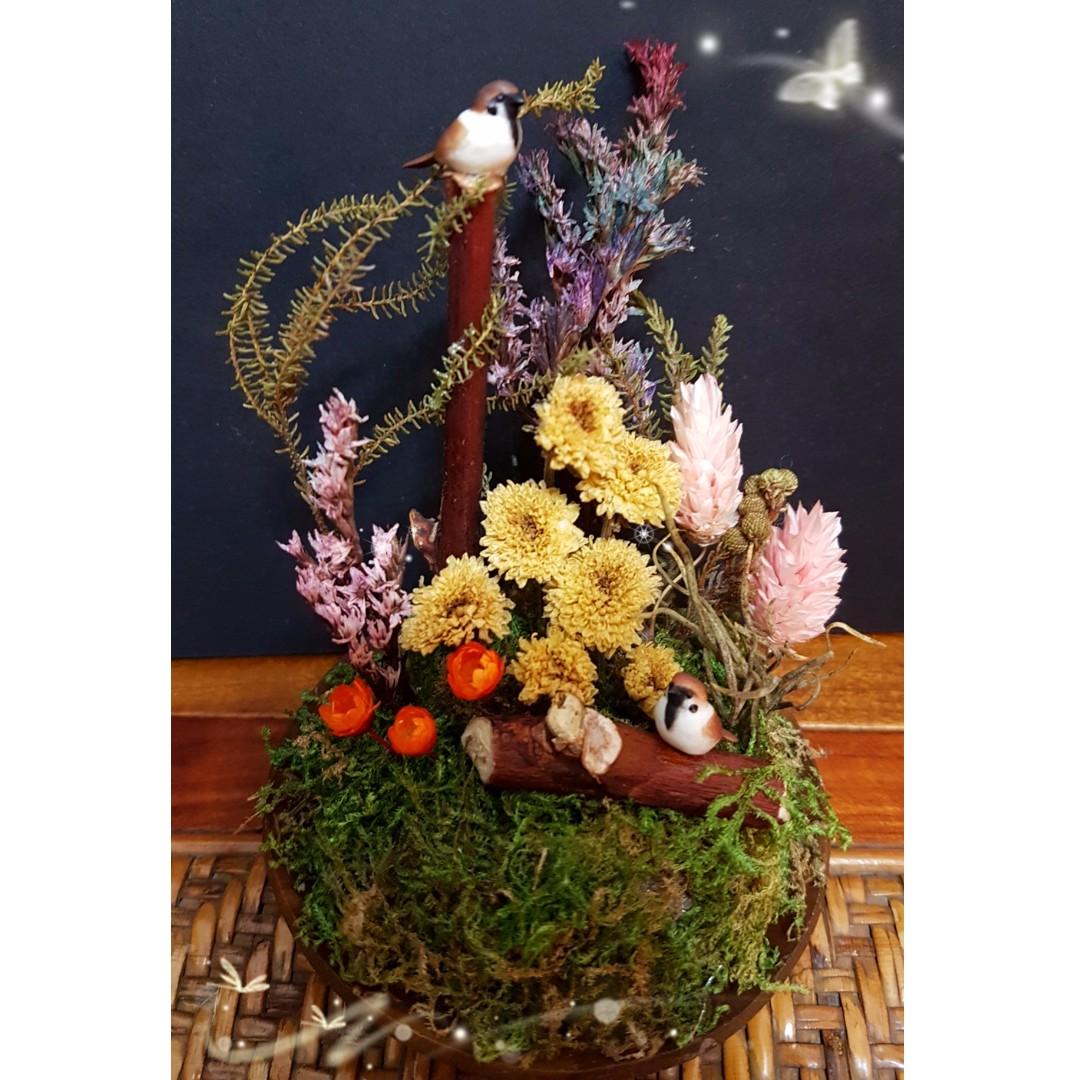 #我的家飾可超取 乾燥花 花圈 花束 婚禮小物 居家擺飾 手工藝品