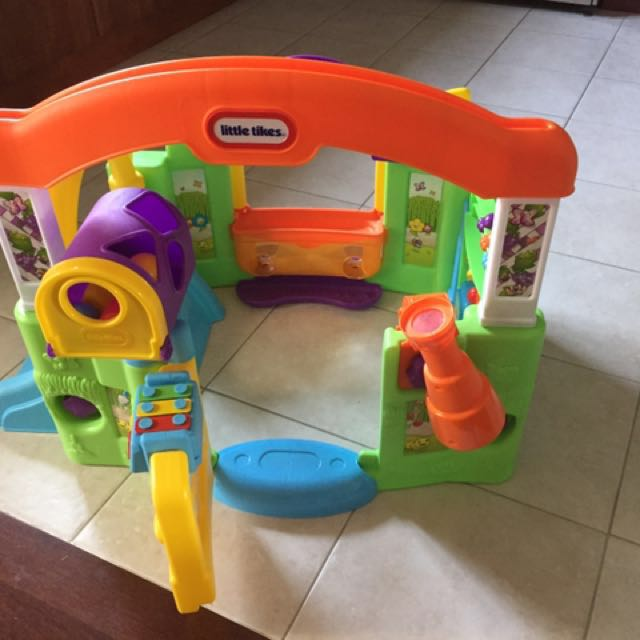 Activity toy Little Tikes inside play house