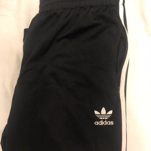 Adidas 三條線運動褲M號(含運)