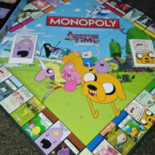 Adventure Time Monopoly Board Game Collectors Edition