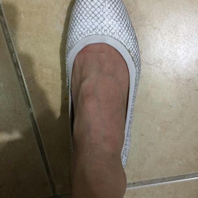 Aeropostale White Doll Shoes
