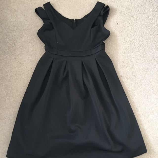 ASOS Curve Black Formal Dress Size 20