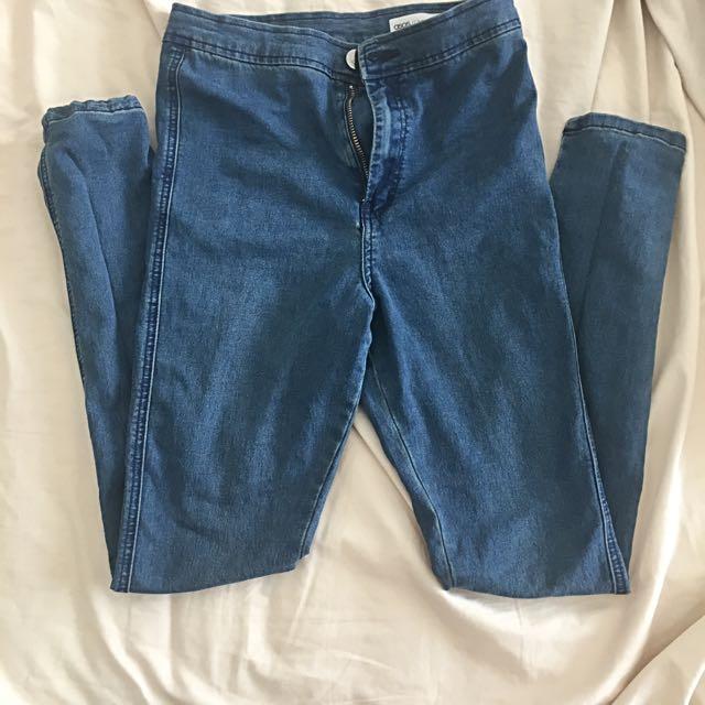ASOS High Waist Skinny Jeans Size 8 | 26,32