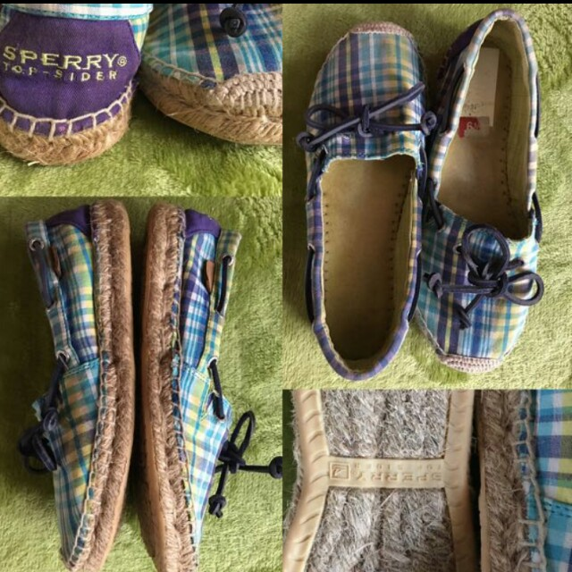 Authentic Sperry Espadrilles-US 6.5