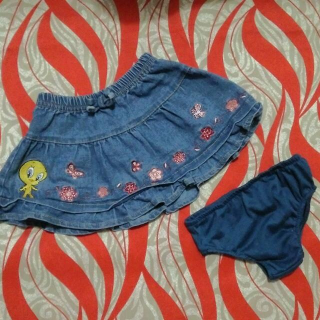 Repriced! Baby Looney Tunes Skirt