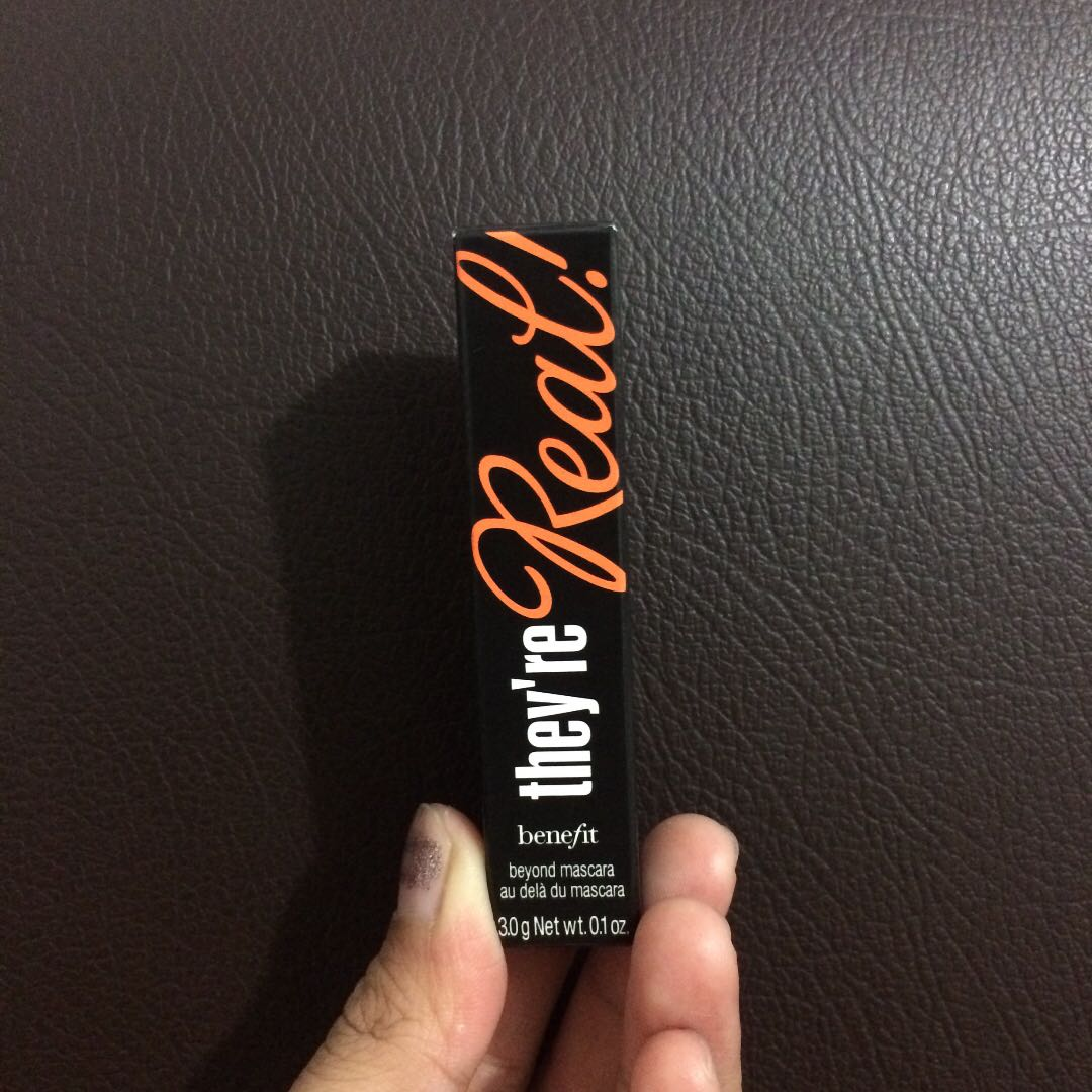 benefit they're Real mascara travel size