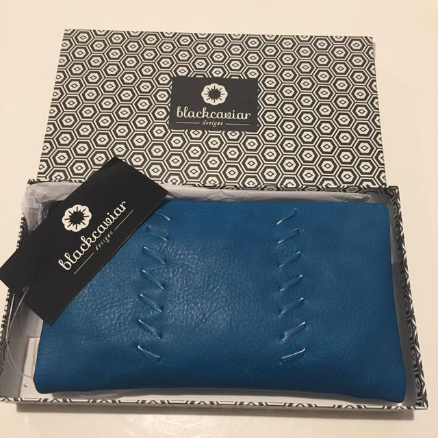 Black Caviar Wallet/Clutch