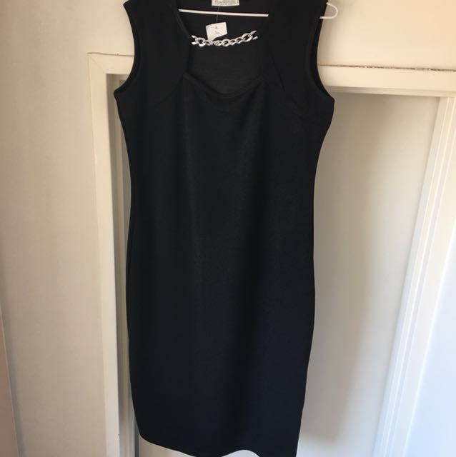 Black dress size 14