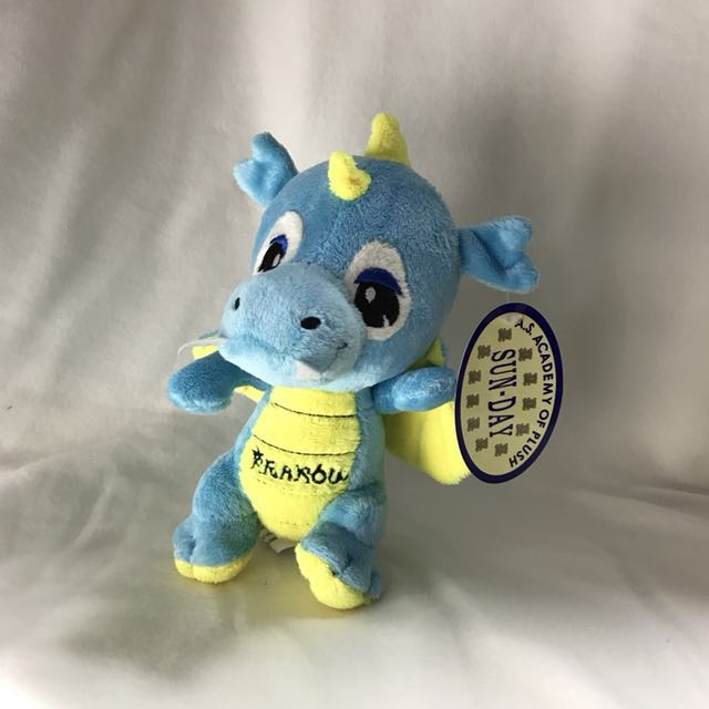 Blue Dragon Plushie