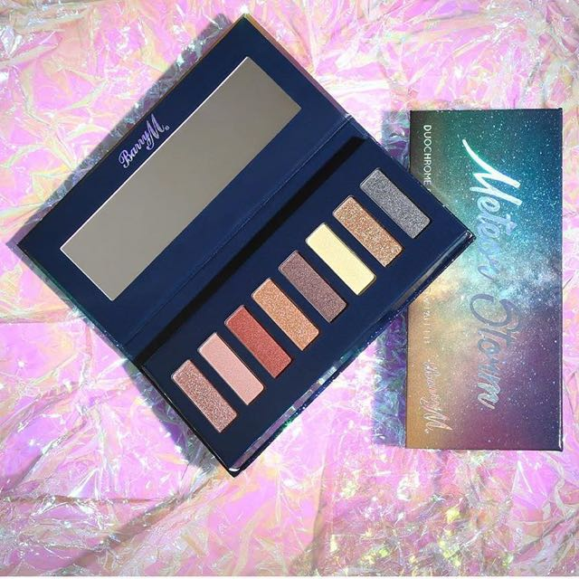 BN Authentic Barry M Meteor Storm Eyeshadow Palette