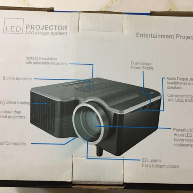 BNIB LED Entertainment Projector Canon Epson Hitachi LG