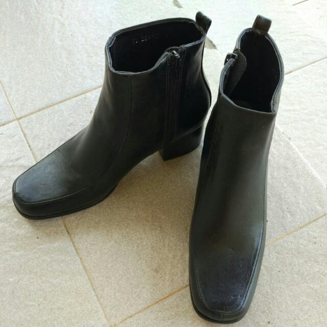 Boots heels - Black heels shoes