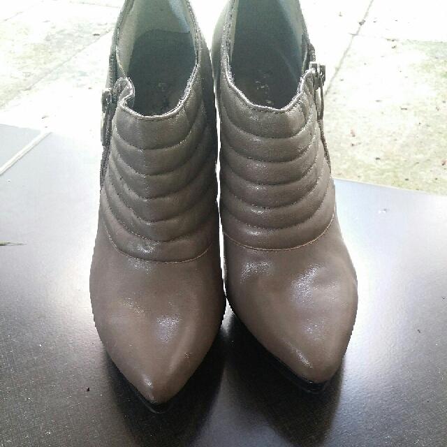 Boots Kulit Leather Boots ENZO ANGIOLINI