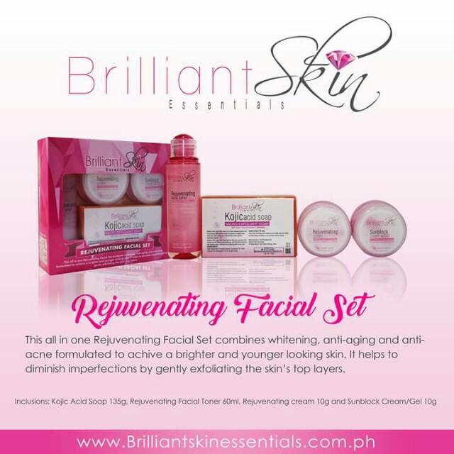Brilliant skin rejuvenating kit