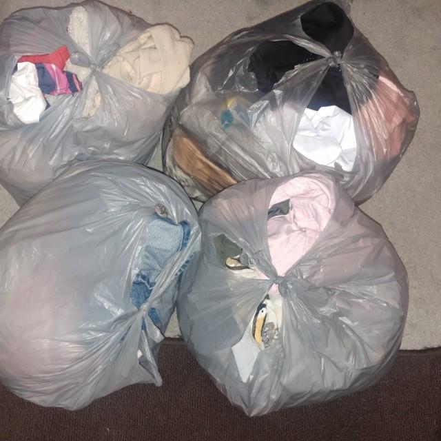 Bulk clothes (~8kg)
