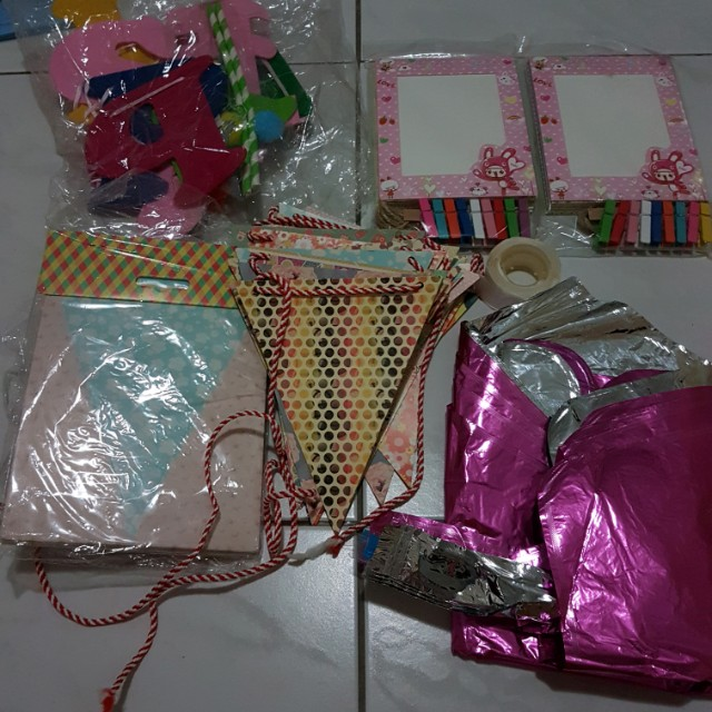 BUNDLE Birthday Decorations Babies Kids On Carousell