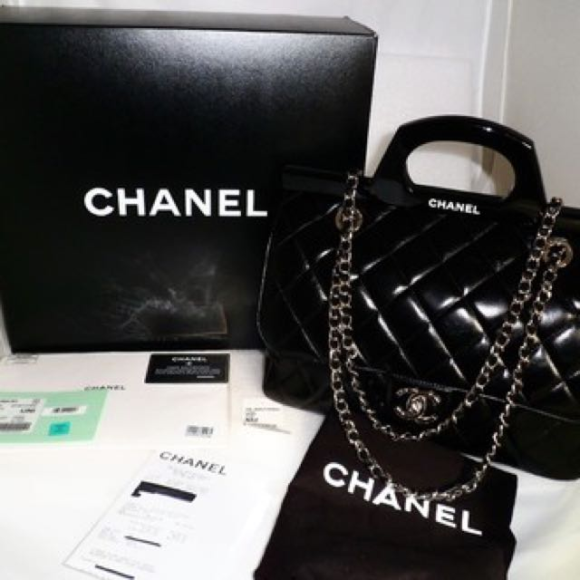 3889455dfc84 Chanel CC Delivery Tote- Reserved With Deposit, Luxury, Bags & Wallets on  Carousell