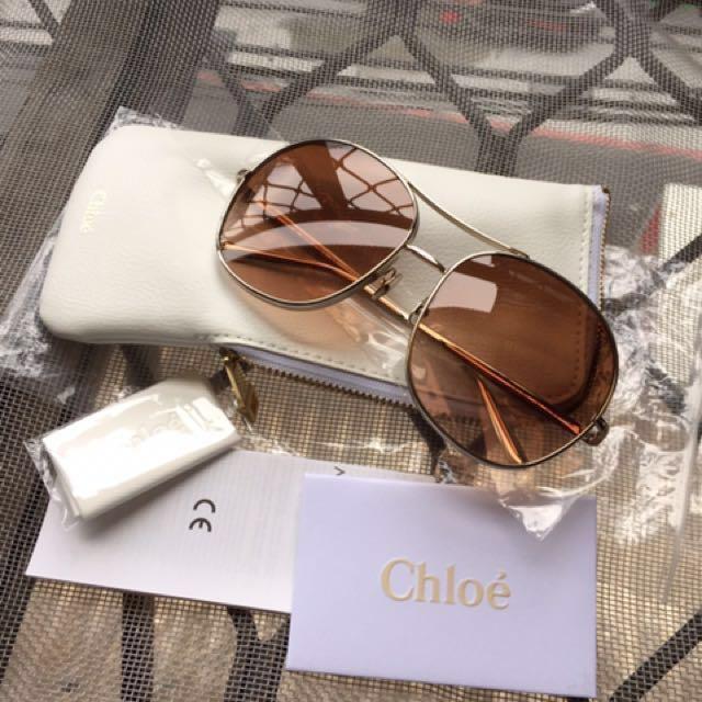 chloe 墨鏡 太陽眼鏡 全新。正品