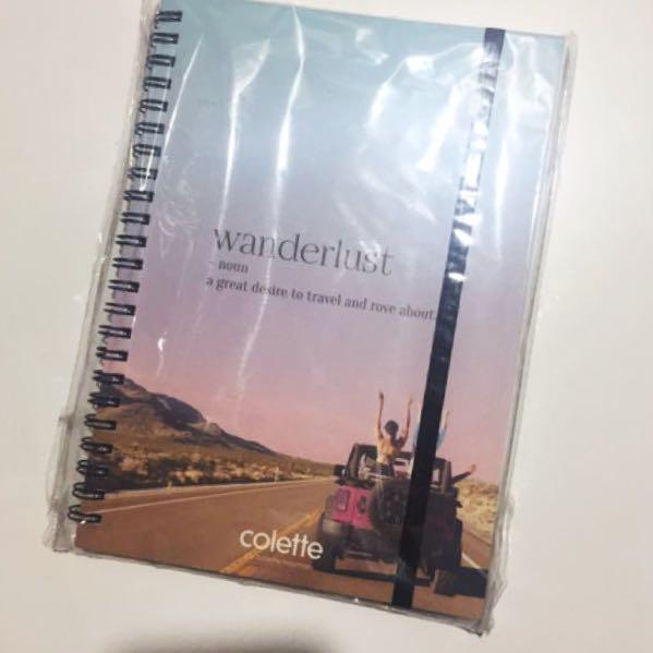Colette Hayman 'Wanderlust' Travel Diary