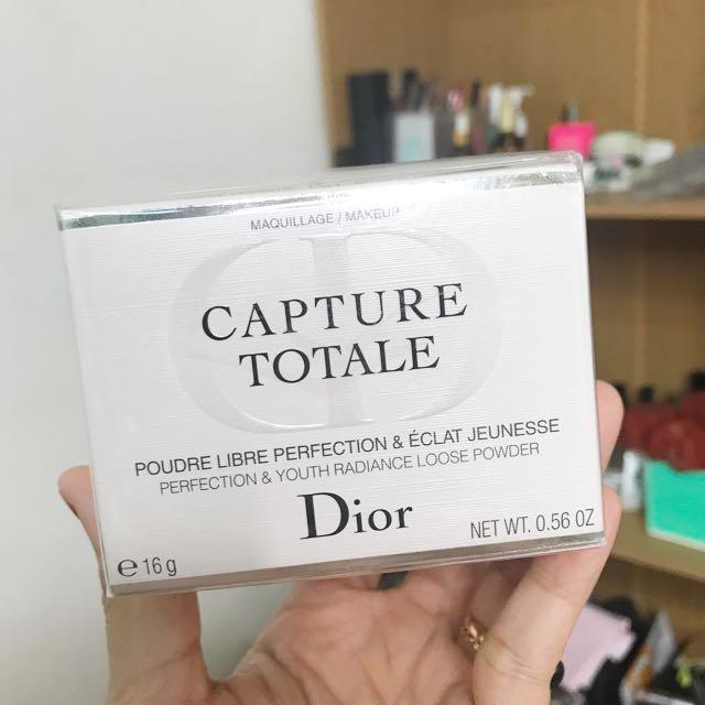 DIOR CAPTURE TOTALE LOOSE POWDER ( 💯 AUTHENTIC)