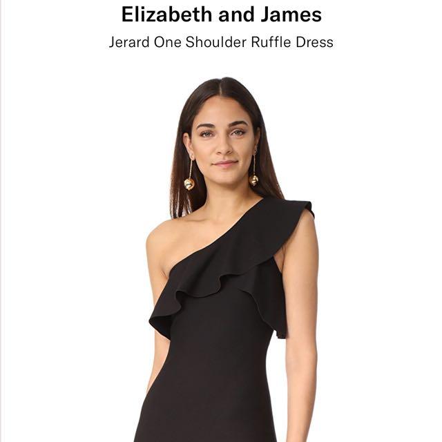 Elizabeth and James Ruffle dress