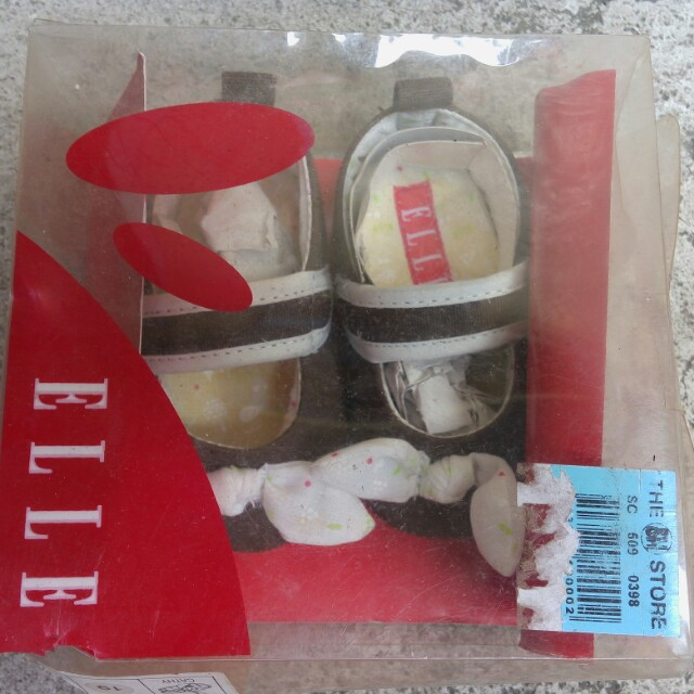 Repriced! Elle Doll Shoes (soft sole)
