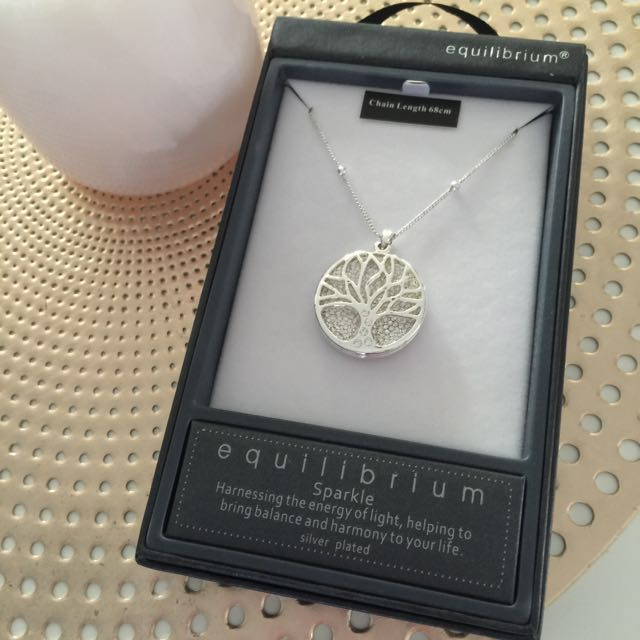 Equilibrium Tree Of Life Necklace 68cm