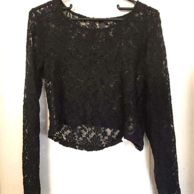 Factorie lace shirt