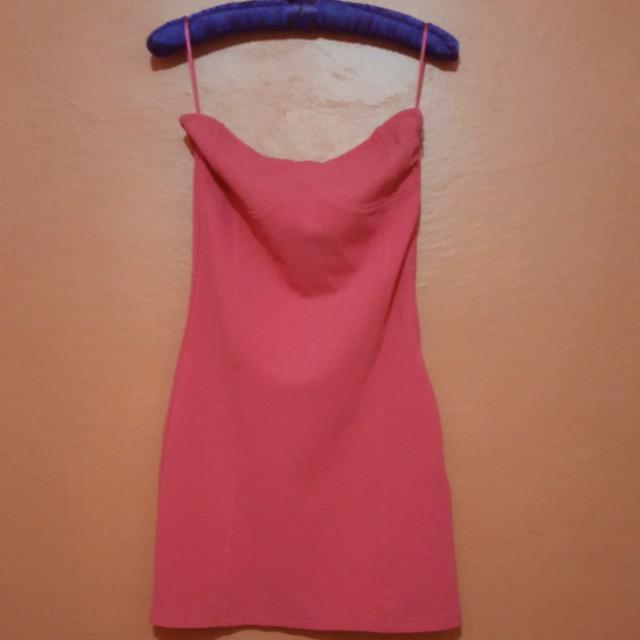 FB Sister Bodycon Tube Dress (Hot Pink)