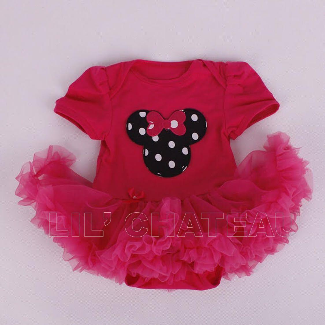 #FlashSale11 TUTU DRESS- ROMANTIC PINK