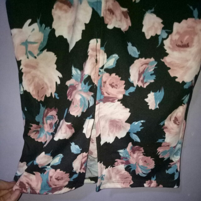 floral bodycon