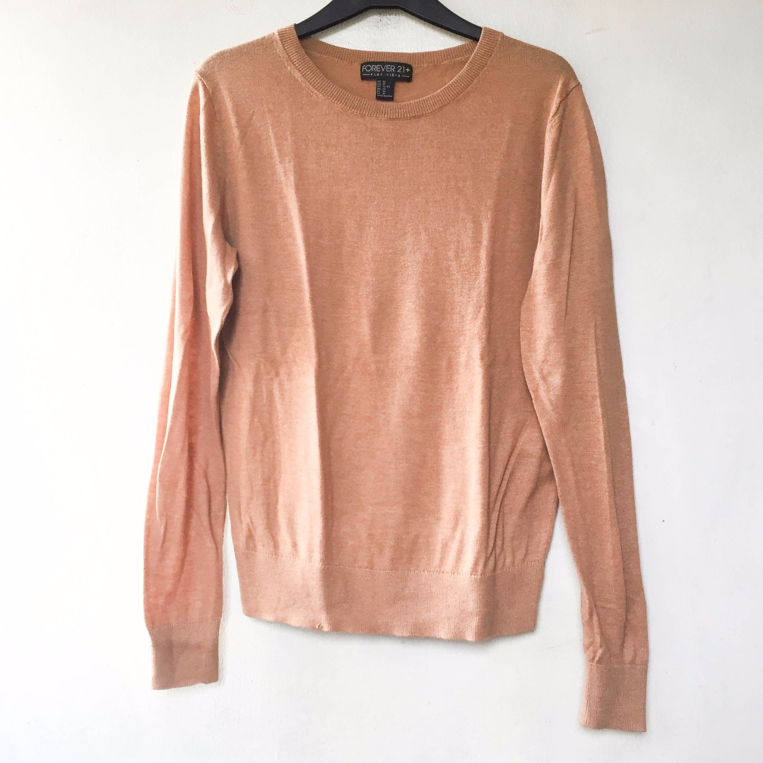 Forever21 brown/orange sweater