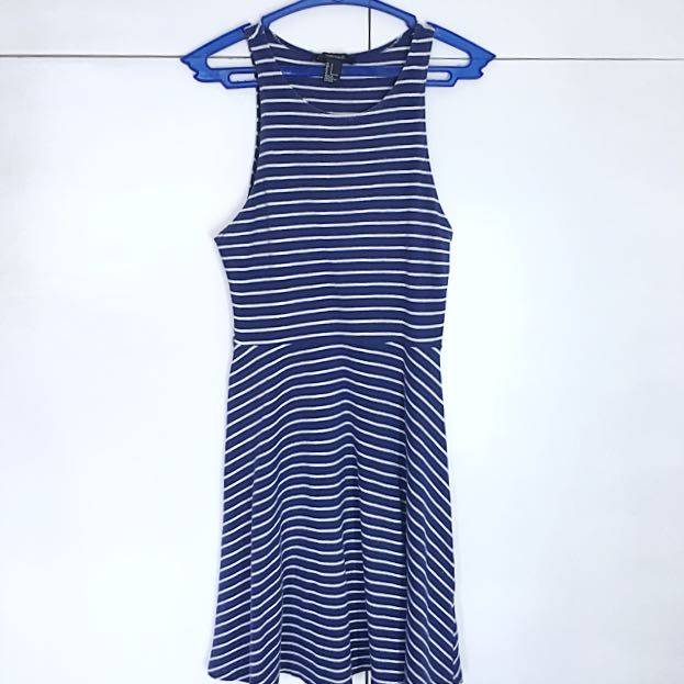 Forever 21 basic striped dress