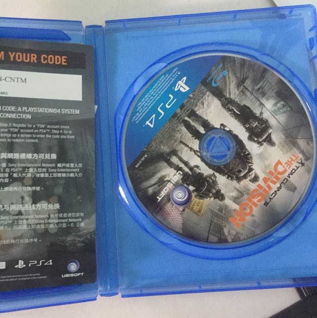 Game ps4 The division