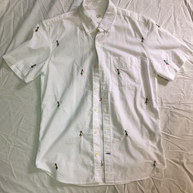 Gap小人襯衫