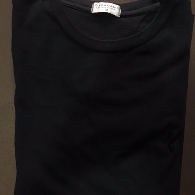 Giordano Mens Plain Tshirt Size M