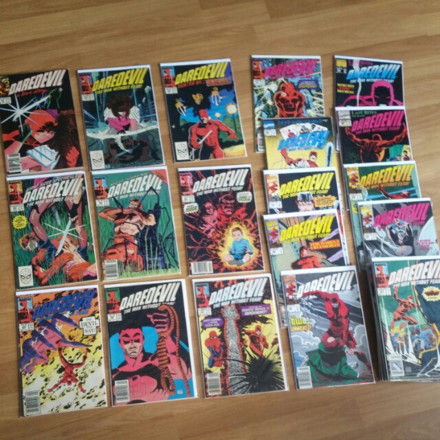👍Hard to find - Marvel Daredevil issue # 255 - 308 complete 54 running issues