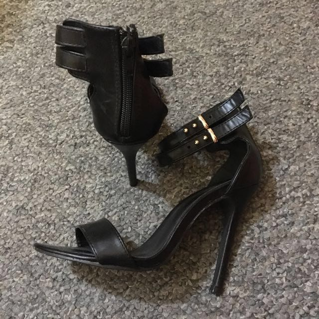 Heels with ankle strap size37
