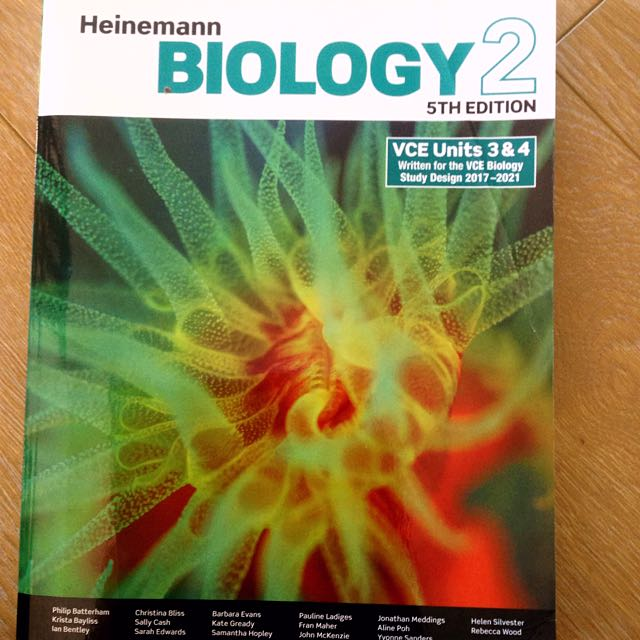 Heinemann biology 2 3/4 5th edition