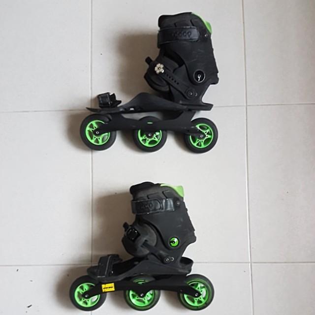 Inline skates Doop slip-on skates large size EU43.5 to 49
