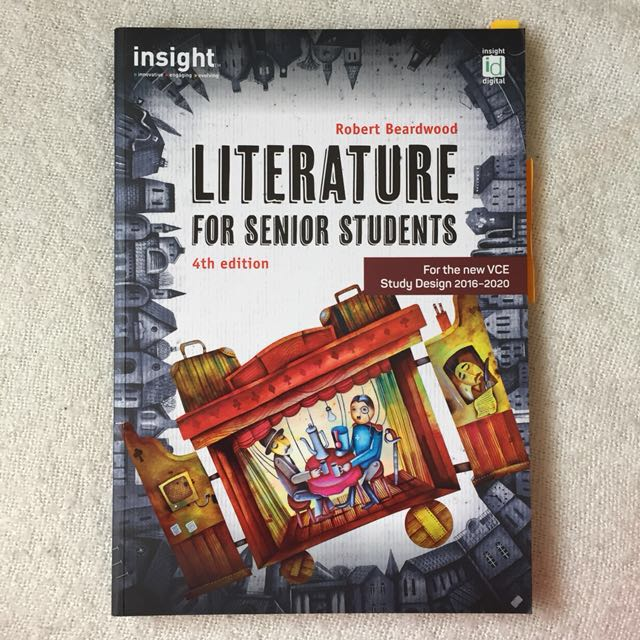 Insight Literature for Senior Students 4th Edition