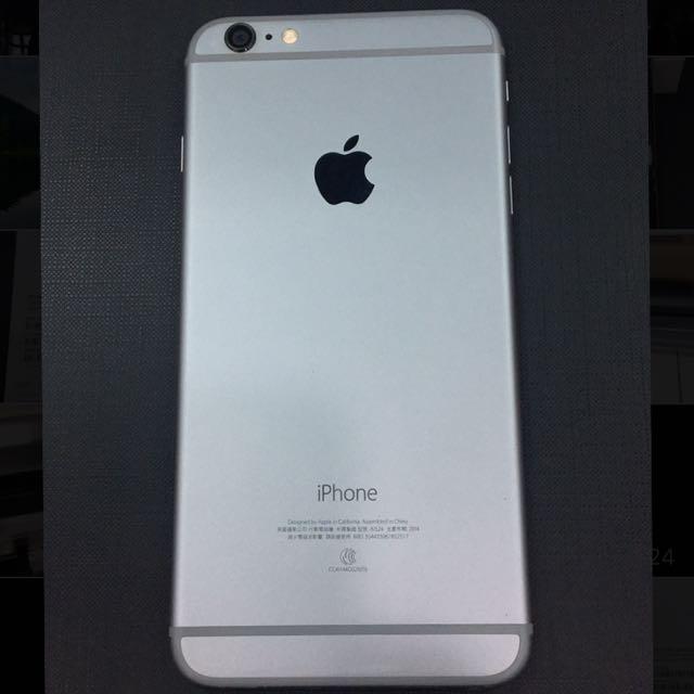 Iphone6 plus 64G (銀黑色)