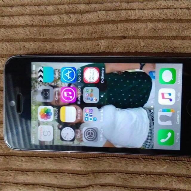 Iphone 5s space grey gpp chip 16gb