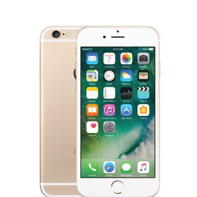 iPhone 6 GOLD 64GB LOCKED TO ROGERS