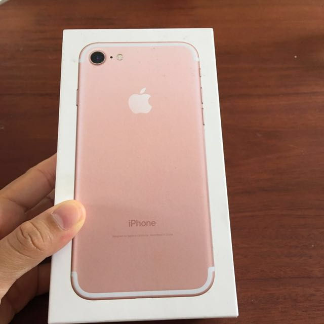 Iphone 7 rose gold 128 gb BU