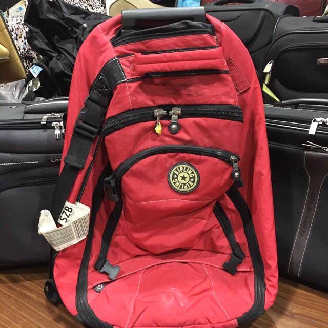 Kipling Original & Authentic Trolley Bag Pack #midnovember50