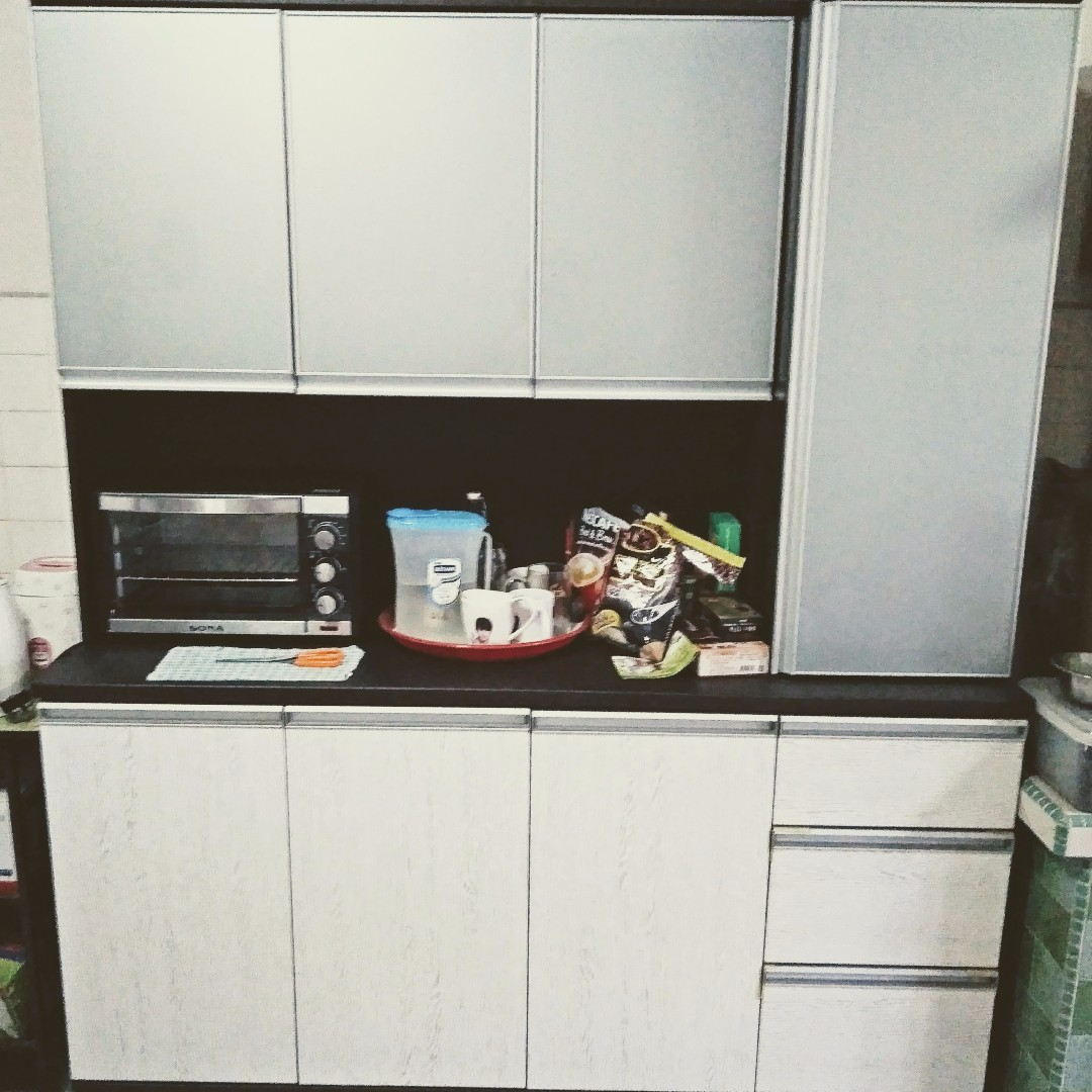 Kitchen Cabinet Used Multi Door With Top Furniture Home Living Furniture Shelves Cabinets Racks On Carousell