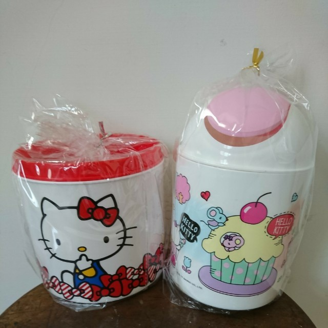 Kitty垃圾桶*2