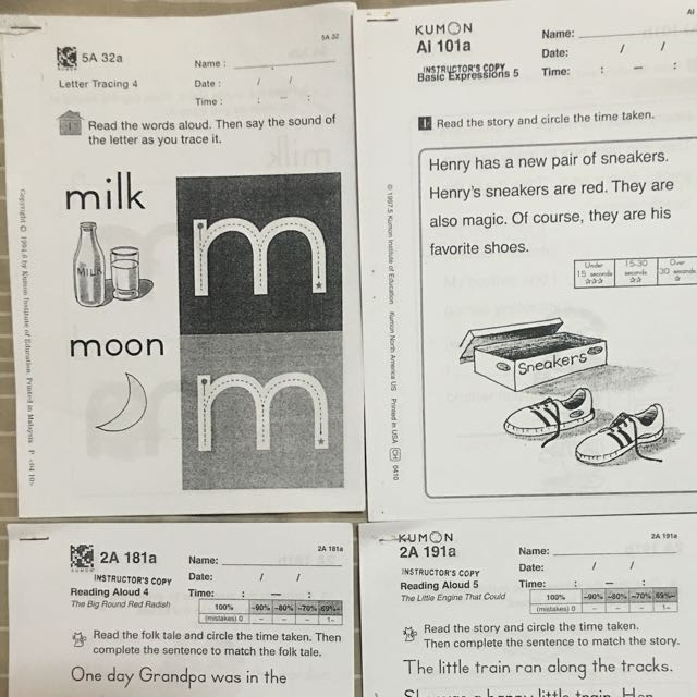 Kumon English Worksheets Books Children's On Carousell. Worksheet. Year 5 English Worksheets Malaysia At Clickcart.co