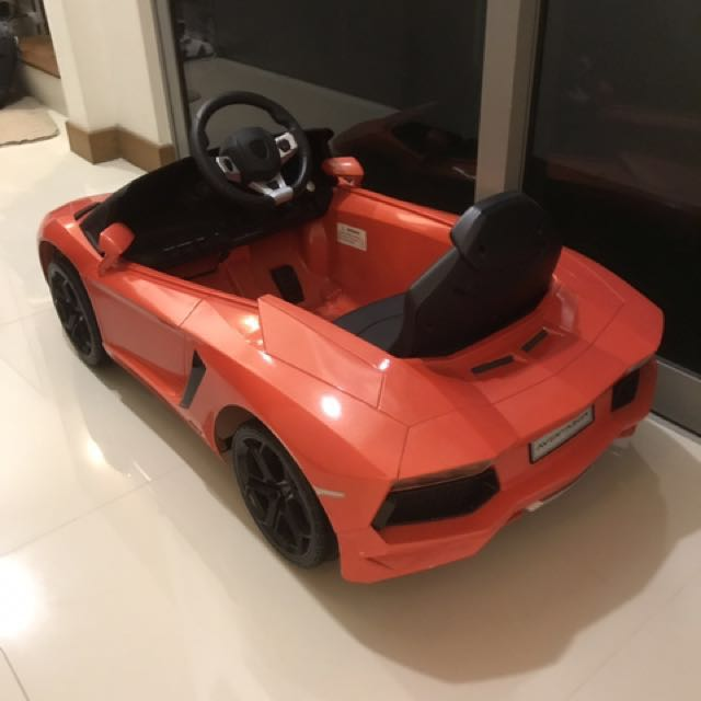 Lamborghini Electric Toy Car Babies Kids Toys Walkers On Carousell